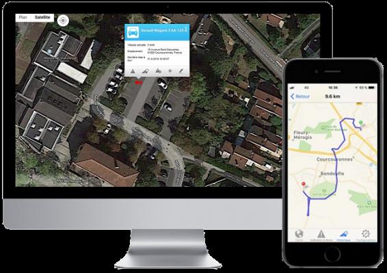 Trackerg gps geolocalisation vehicules